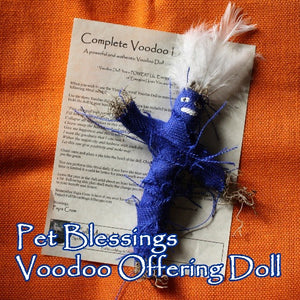 Pet Blessings Offering Doll