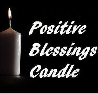Positive Blessings Candle