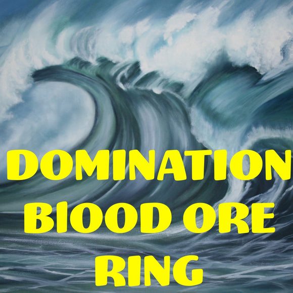 Domination Blood Ore Ring