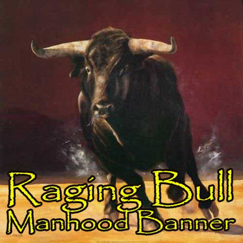 Raging Bull Blessed Banner