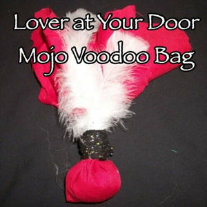Lover At Your Door Mojo Bag