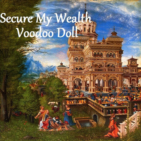 Secure My Wealth Voodoo Doll