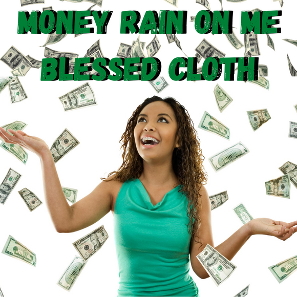 Money Rain On Me Blessed Banner
