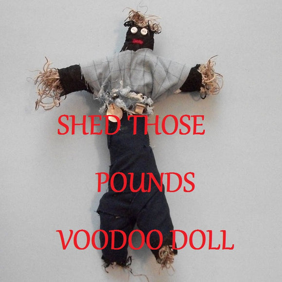 Shed Those Pounds Voodoo Doll