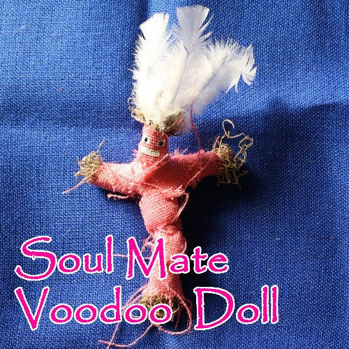 Soul Mate Voodoo Dolls can draw the love of your whole life right to your door and your arms.