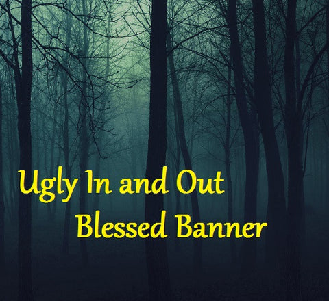 Ugly In and Out Blessed Banner