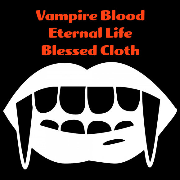 Vampires Blood Eternal Life Blessed Banner