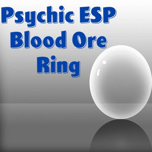 Psychic ESP Voodoo Spell Blood Ore Ring