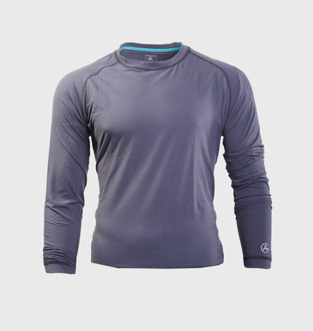 Men's Long Sleeve Knit Tee