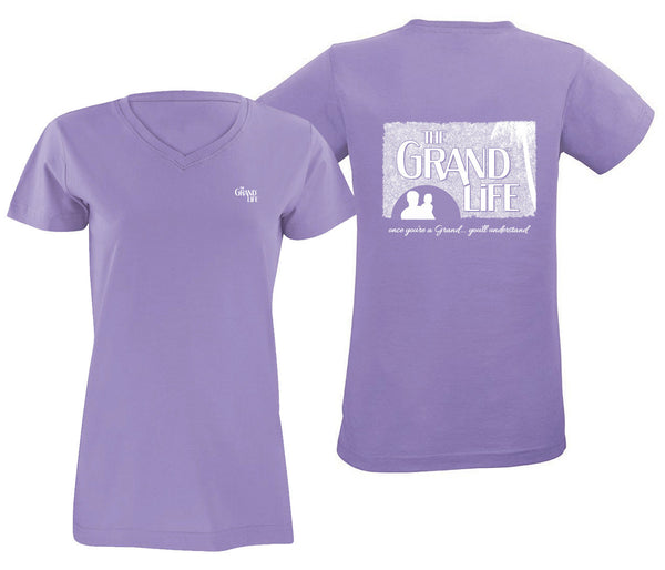 The Grand Life™ - V-Neck Paradise Tees ... Once You're a Grand - You'll Understand™