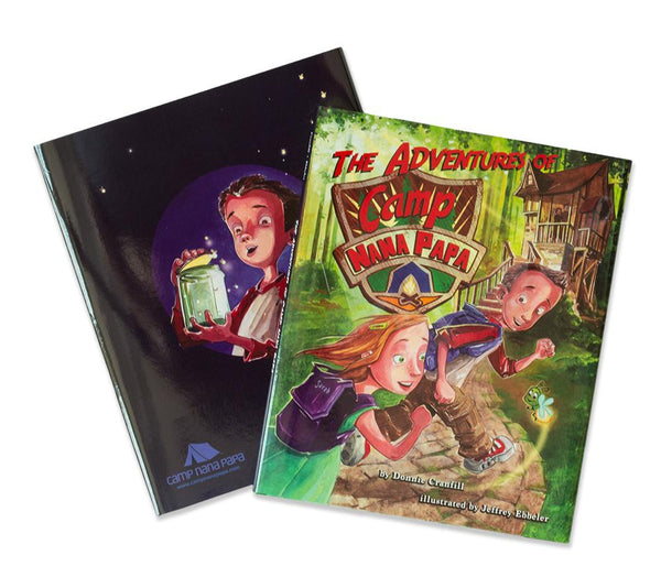 The Adventures of Camp Nana Papa™ - Our Marquis Children's Book!