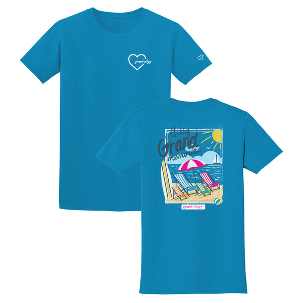 Grand-ology® - Making Grand Memories™ Beach T-shirt