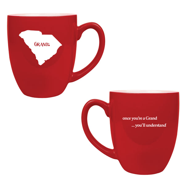 Grand States - Grand.™ -Once you're a Grand ... You'll Understand® Red Mug