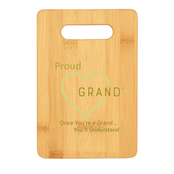 Proud Grand-Heart™ Cutting Board
