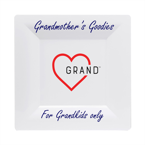 Grand-Heart™ - Grandkids Goodies Plate