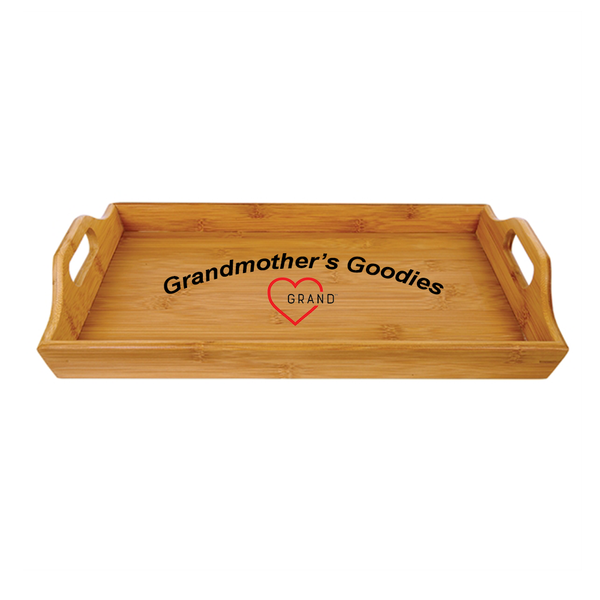 Grandmother's Goodies  Grand - Heart™  Serving Tray