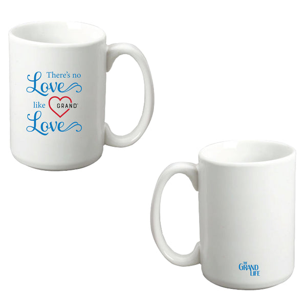 The Grand Life™ -  There's No Love Like Grand Love  Ceramic Mug