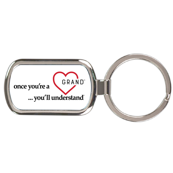 Grand Heart™ - Once You're a Grand … You'll Understand® Keychain