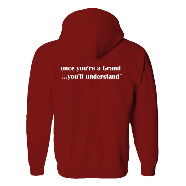 Proud Grand-Heart™ - Once You're a Grand ... You'll Understand™ - Hooded Jacket