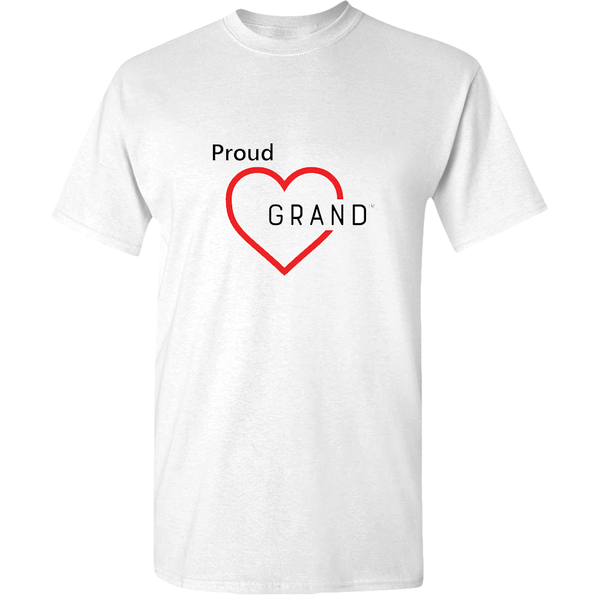 Proud Grand-Heart™ Adult Unisex T-Shirt