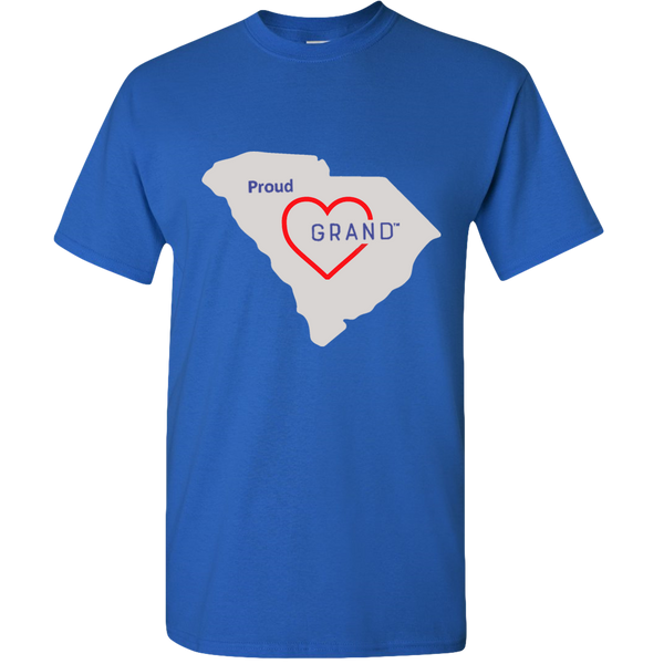 Grand States - Proud Grand-Heart™ Adult Unisex T-shirt