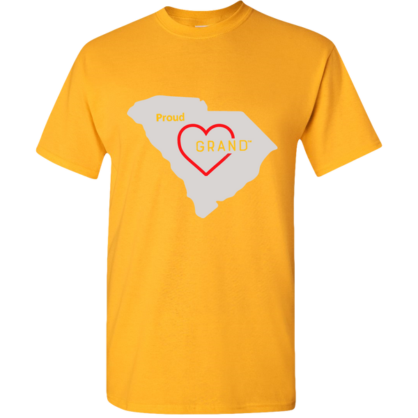 Your State Proud Grand-Heart™ Adult Unisex T-shirt
