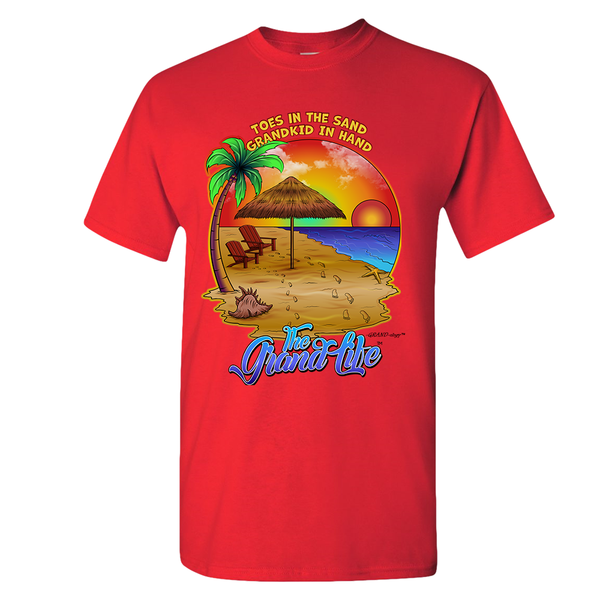 Grand-ology™ - Toes in the Sand Unisex Adult T-shirt