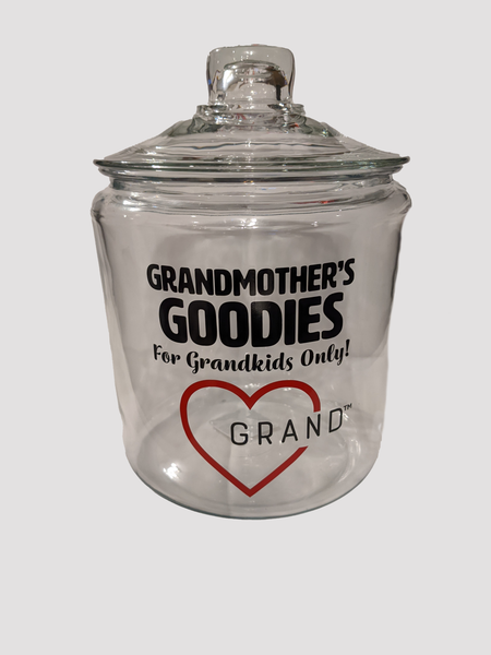 Grand-Heart™ - Grandmother's Goodies Cookie Jar