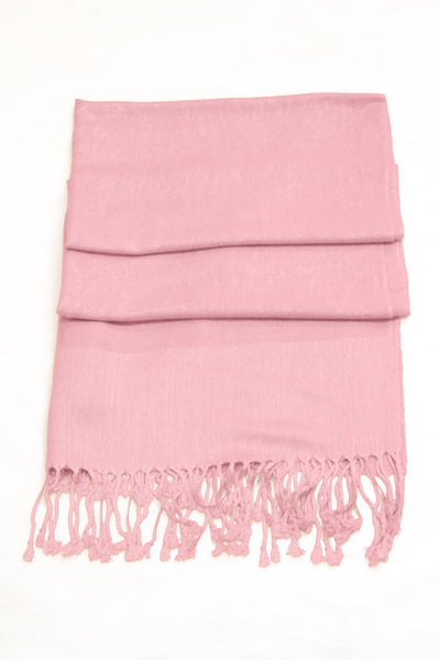 "group-Baby Pink (Sakkas 70"" x 28"" Paisley Self-Design Pashmina Shawl / Wrap / Stole)"