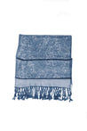 "group-Denim Blue (Sakkas 70"" x 28"" Paisley Self-Design Pashmina Shawl / Wrap / Stole)"