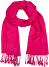 "group-Fuchsia (Sakkas 70"" x 28"" Paisley Self-Design Pashmina Shawl / Wrap / Stole)"