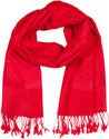 "group-Red (Sakkas 70"" x 28"" Paisley Self-Design Pashmina Shawl / Wrap / Stole)"