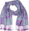 "group-Steel Blue / Purple (Sakkas 70"" x 28"" Paisley Self-Design Pashmina Shawl / Wrap / Stole)"