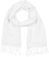 "group-White (Sakkas 70"" x 28"" Paisley Self-Design Pashmina Shawl / Wrap / Stole)"