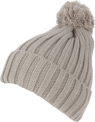 Sakkas Dante Warm Unisex Pom-pom Ribbed Knit Beanie Simple and Casual