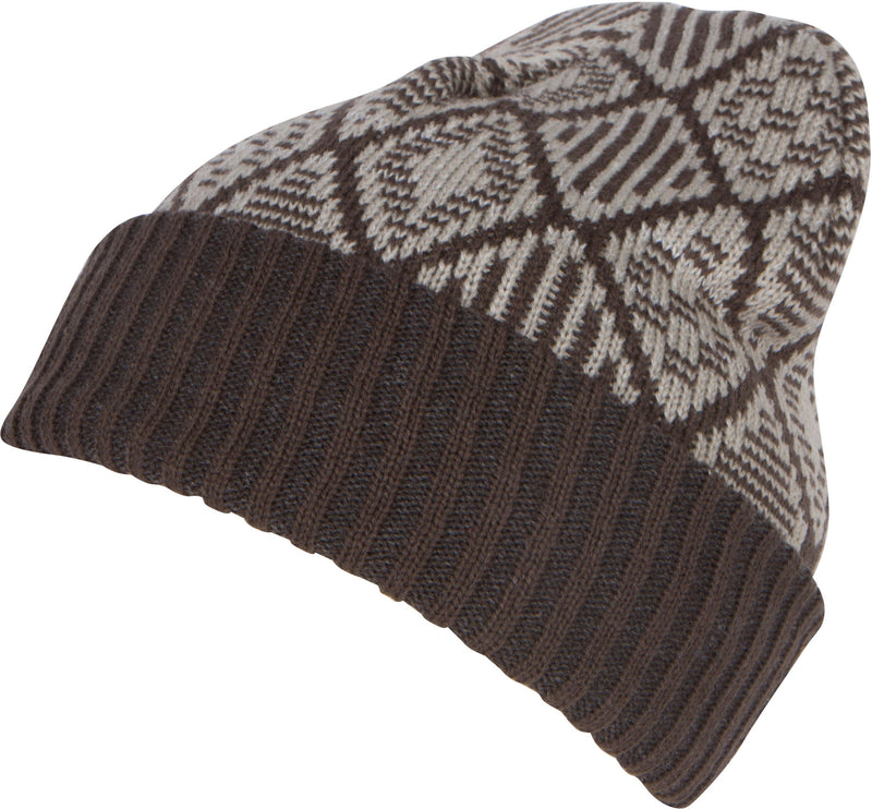 Sakkas Lucien Pattern Knit Cap Beanie Hat Warm Light Unisex