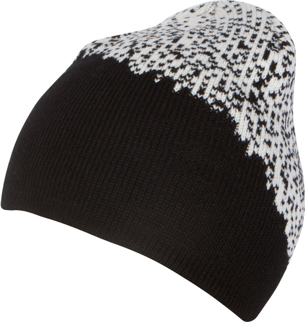 Sakkas Basile Soft and Warm Everyday Commuter Knit Hat Beanie Unisex#color_1758-black specs
