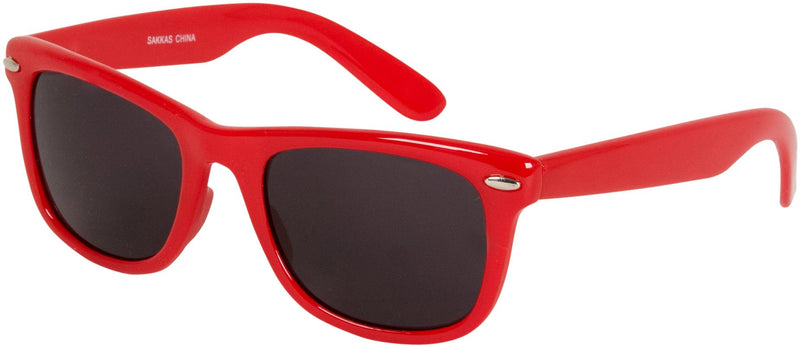 Sakkas Retro 1980's Style Sunglasses with Super Dark Lens