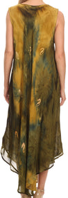 group-Army Green (Sakkas Starlight Caftan Tank Dress / Cover Up)