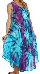 Sakkas Starlight Caftan Tank Dress / Cover Up