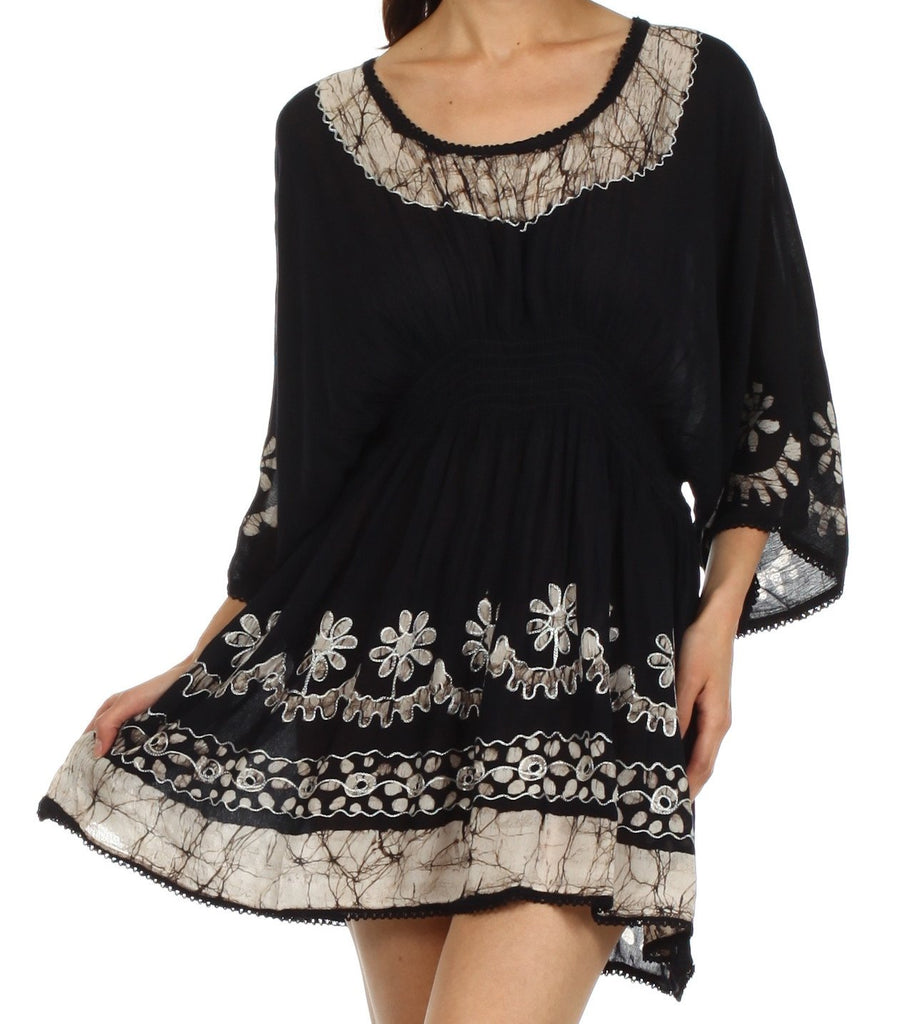 Sakkas Ketana Batik Tunic Cover Up