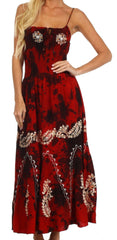 Sakkas Ariel Embroidered Batik Dress