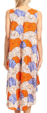 Sakkas Mikaela Summer Flowy Caftan Dress Cover-up Light & Casual