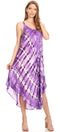 Sakkas Nila Women's Double Spaghetti Strap V-neck Casual Maxi Long Summer Dress
