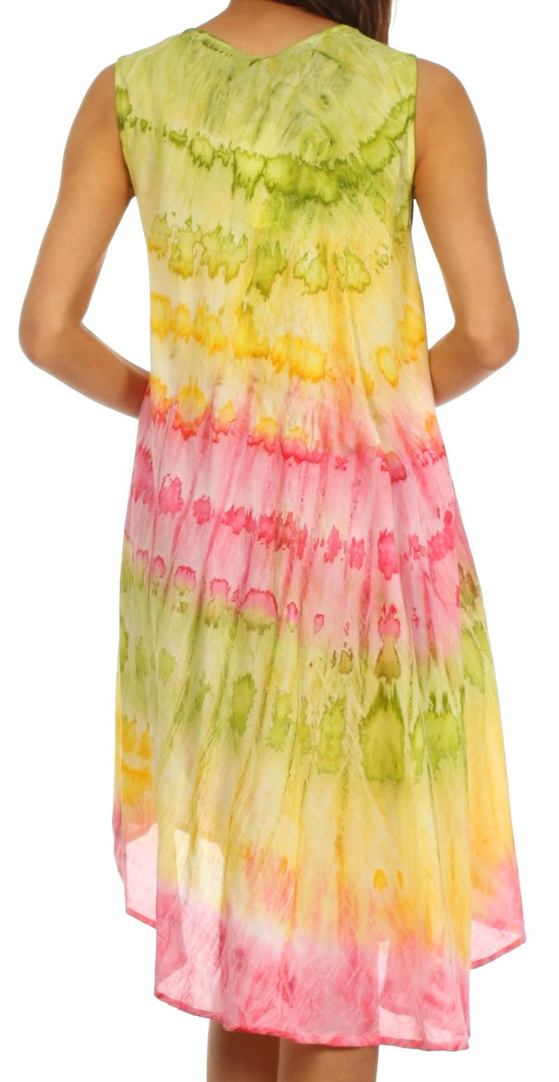 Sakkas Desert Sun Caftan Dress / Cover Up