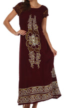 Sakkas Leilani Batik Maxi Dress