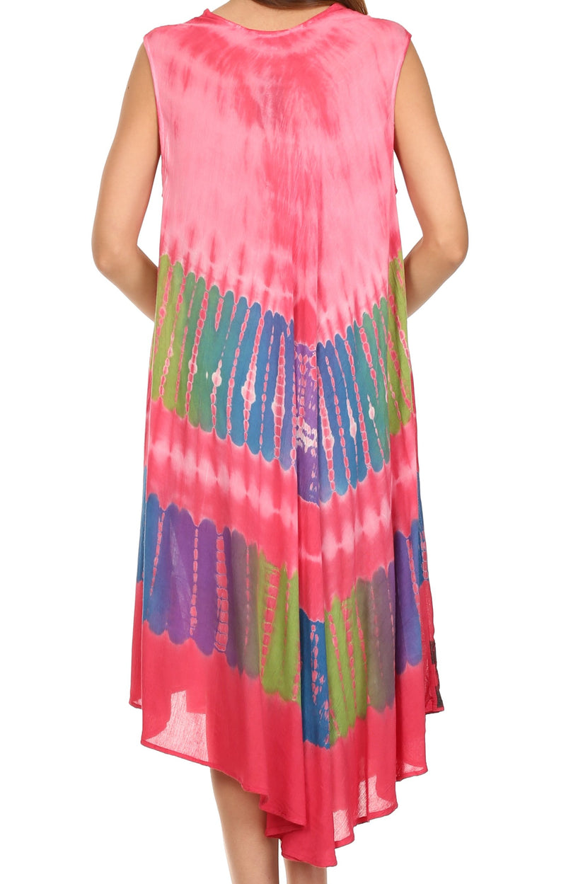 Sakkas Tasanee Caftan Tank Dress / Cover Up