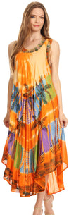 group-Orange (Sakkas Tasanee Caftan Tank Dress / Cover Up)