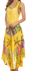 group-Yellow (Sakkas Tasanee Caftan Tank Dress / Cover Up)