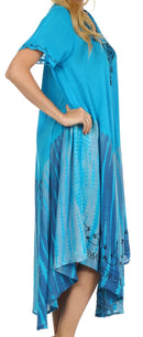 Sakkas Viveka Embroidered Caftan Dress